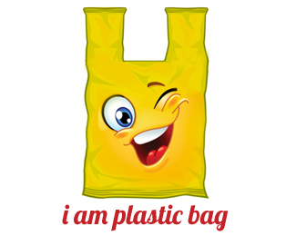 i am plastic bag