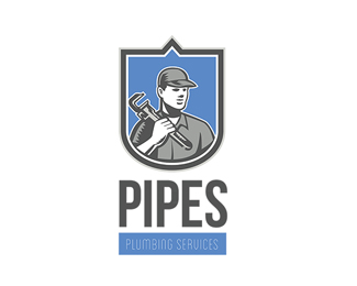 Pipes Plumbing Services Logo