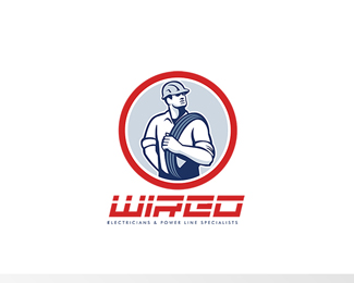 Wired Electricians Logo