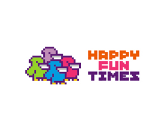 Happy Fun Times logo design