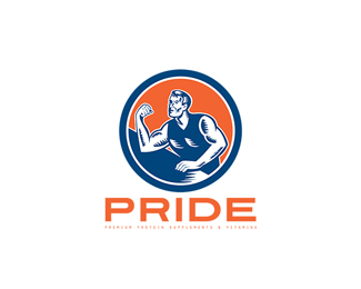 Pride Premium Protein Supplement Logo