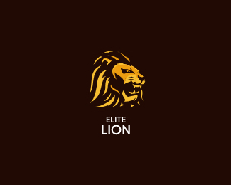 Elitelion letter logo icon
