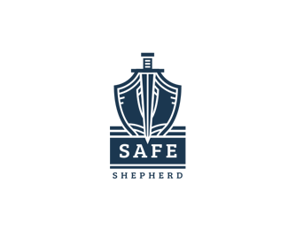 Logo design inspiration #30 - Safe Shepherd by Szende Brassai