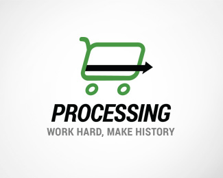 Card Processing Logo Template