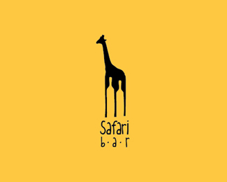 Logo design inspiration #4 - Roman Kirichenko - Safari bar