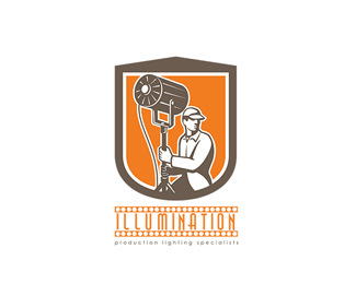 Illumination Production Lighting Logo