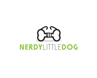 nerdy little dog