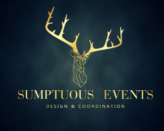 Logo design for Sumptuous Events
