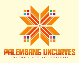 Logo for 'Palembang Uncurves'
