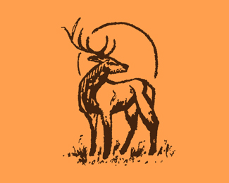 Hand Drawn Deer Icon