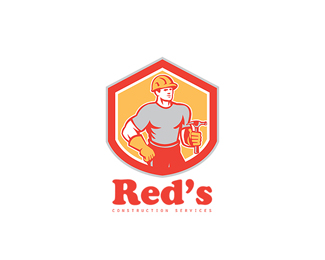 Red's Construction Services Logo.