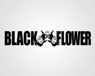 Black Flower Bar