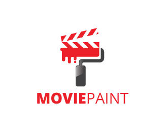 Movie Paint Logo