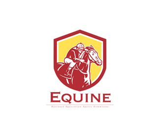 Equine National Sports Committee Logo