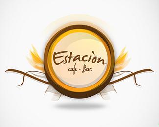Set of vintage logo, badge, emblem or logotype elements for beer, beer shop, home brew, tavern, bar, cafe and