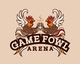 Game fowl arena