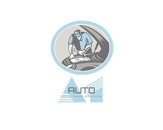 Auto Vehicle  Repairs and Servicing Logo