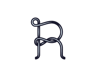 Letter R From The Wire Logo