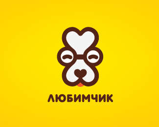 Сookies for dogs. Version logo for old dogs
