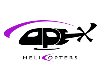 logopond logo brand identity inspiration apex helicopter