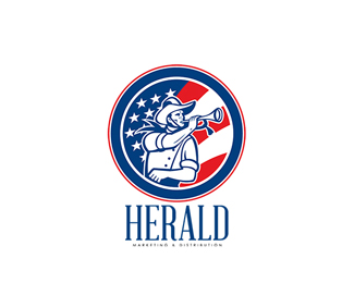 Herald Marketing and Distribution Logo