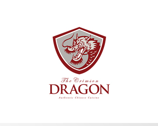 The Crimson Dragon Chinese Cuisine Logo