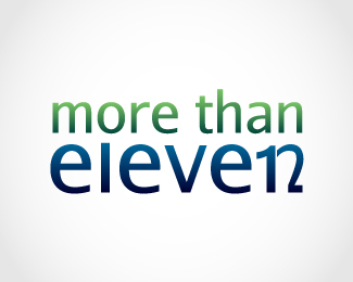 more than eleven