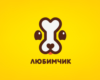 Сookies for dogs. Version logo for young dogs
