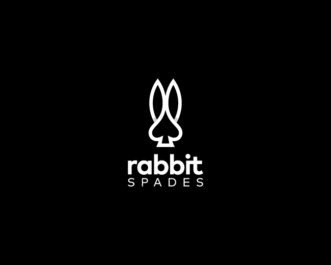 Rabbit Spades Logo
