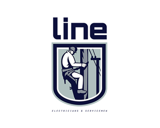 Line Electricians and Servicemen Logo