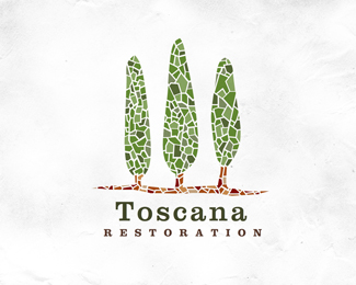 Logo design inspiration 2 - Joe White - Toscana Restoration