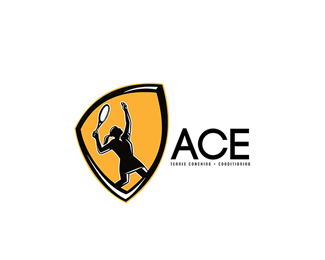 Ace Tennis Coaching Logo