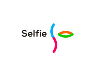 S & eye, Selfie logo design
