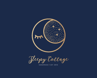 Sleepy Cottage logo re-design