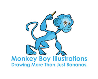 Monkey Boy Illustrations