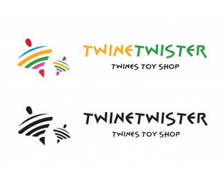 Twine Twister Logo template