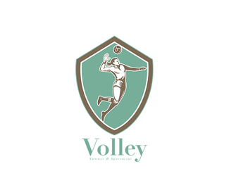Volley Sports Wear Logo