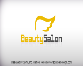 Beauty Salon logo at free of cost