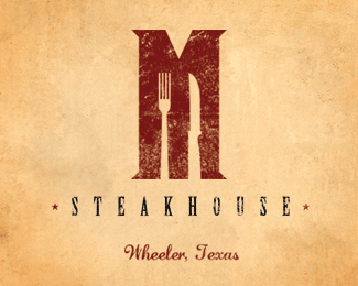 Maxey's Steakhouse M Logo 2