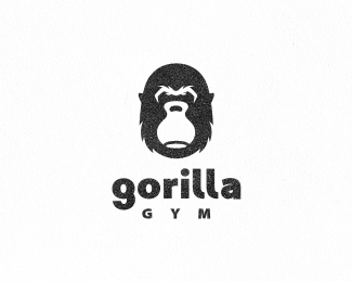 Logo design inspiration #31 - Gorilla Gym by Janis Ancitis
