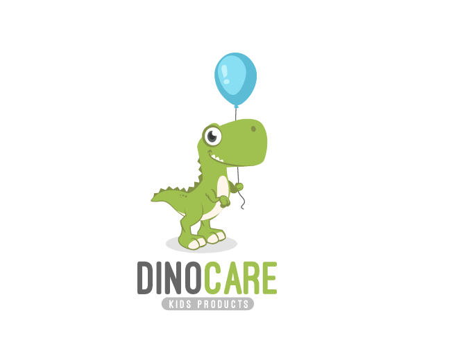Dino Care - Ready-made Logo for Sale