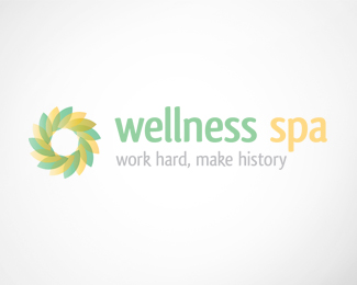 Wellness Spa Logo