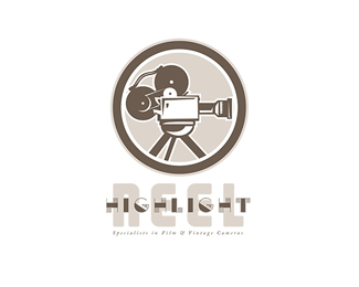 Highlight Reel Specialist in Film and Cameras Logo
