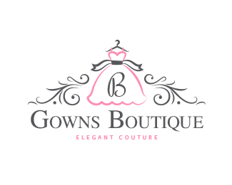 Gowns Boutique Logo