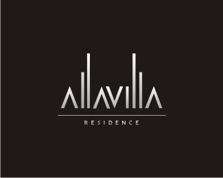 Logopond logo brand identity inspiration allavilla for Apartment logo inspiration