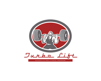 Turbo Lift Weightlifting Fitness Program Logo