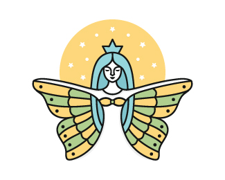 Angel Woman Logo