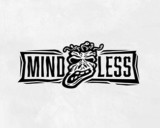 Mindless - Inktober - Day 2 Logo Design