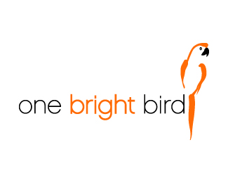 Logotipo de One bright bird
