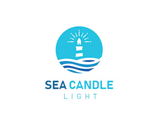 Sea Candle Light Logo